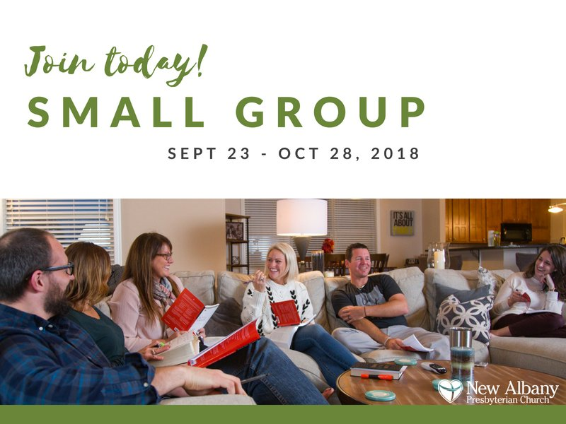 Our Small Groups are a great way to get connected and to grow in your spiritual journey.