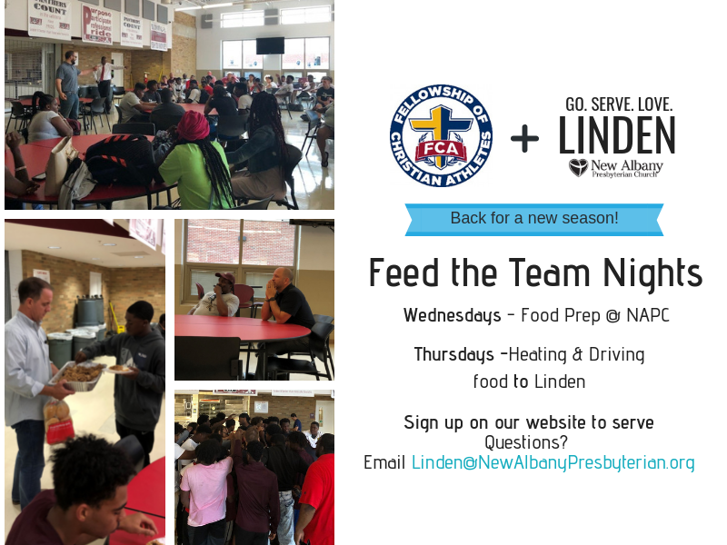 Sign up to serve the athletes of Linden-McKinley High School now!