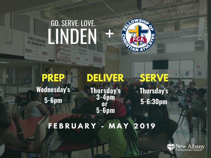 Sign up to serve the athletes of Linden-McKinley High School.