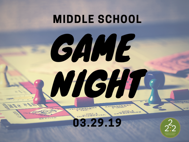 MIDDLE SCHOOLERS- Get ready!