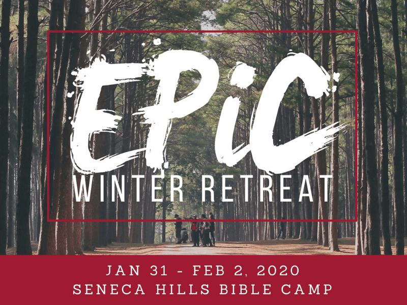 Save the Date for the WINTER RETREAT!