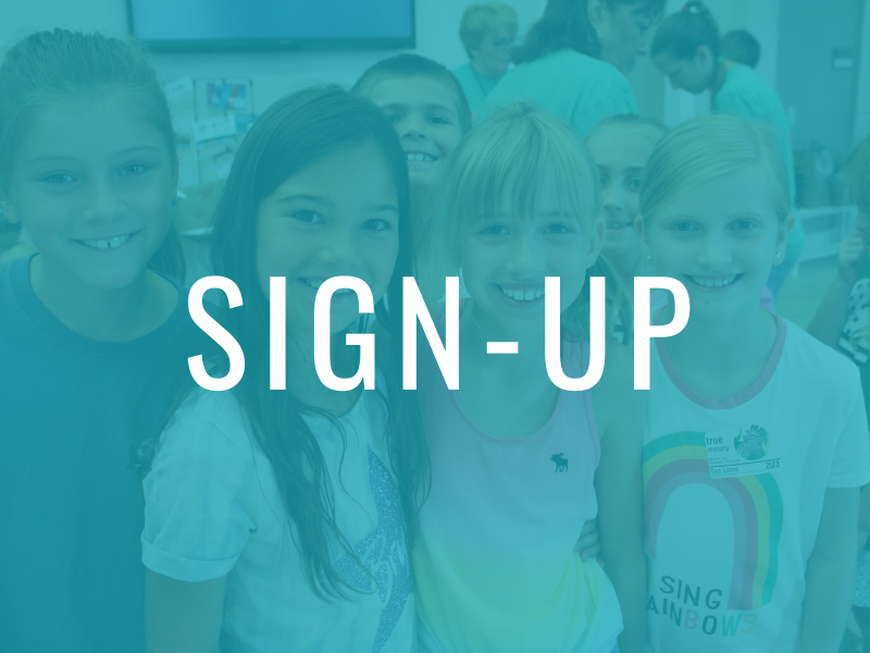 Kids: Sign-up here!
