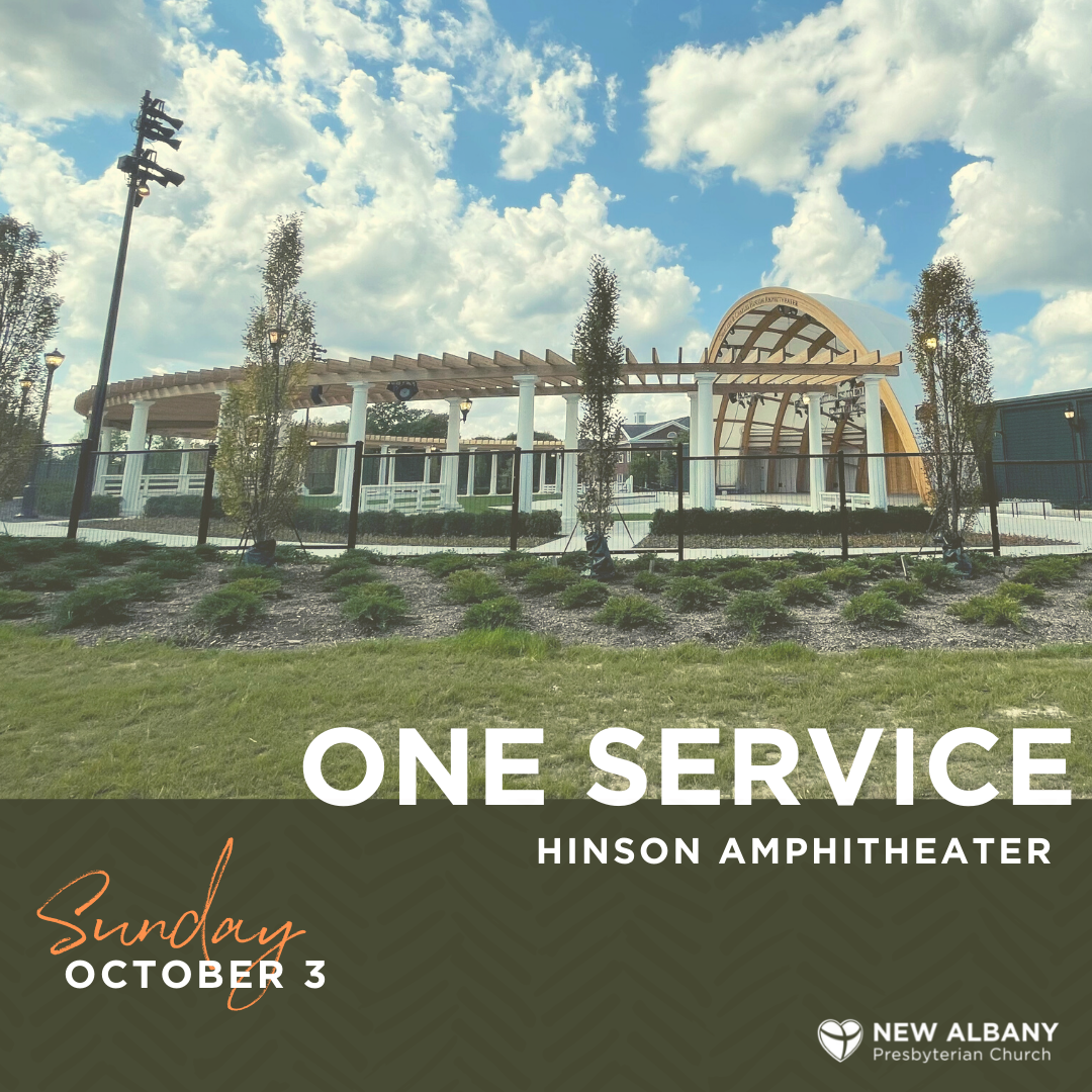 Join us Sunday, October 3